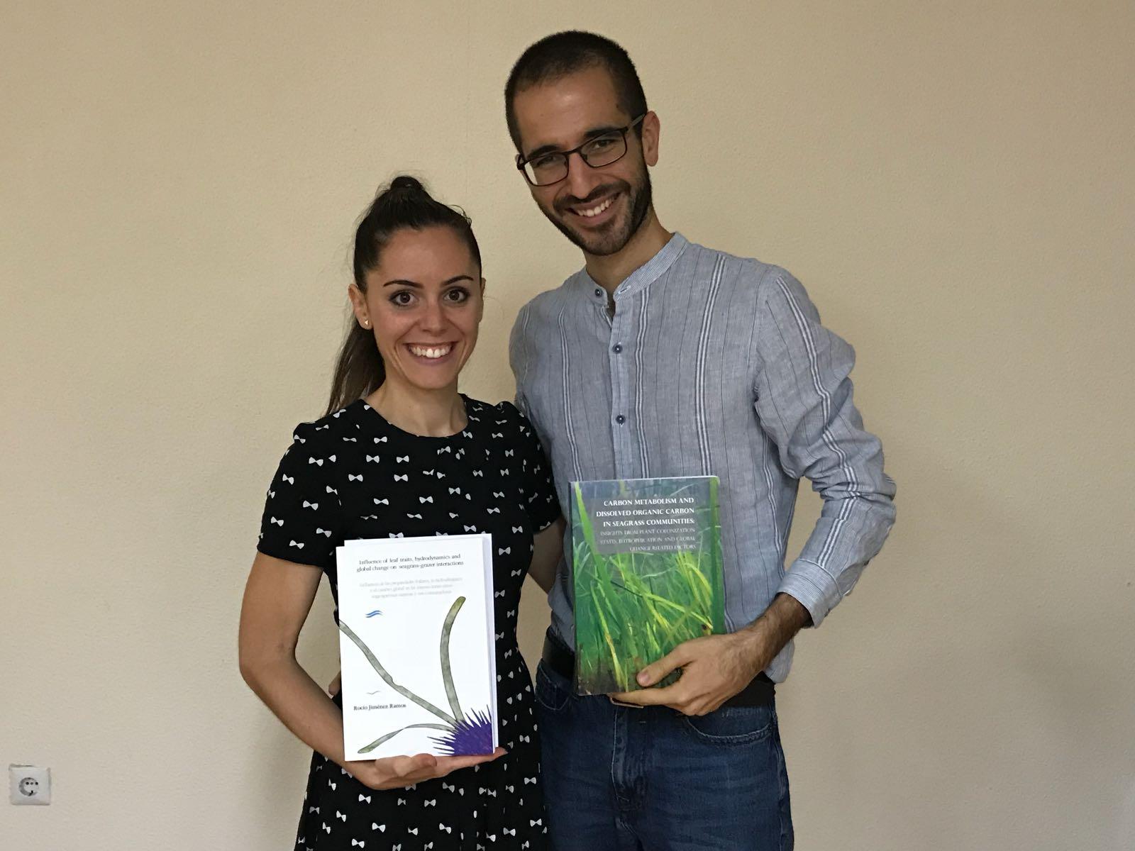 Dra. Jiménez-Ramos and Dr. Egea
