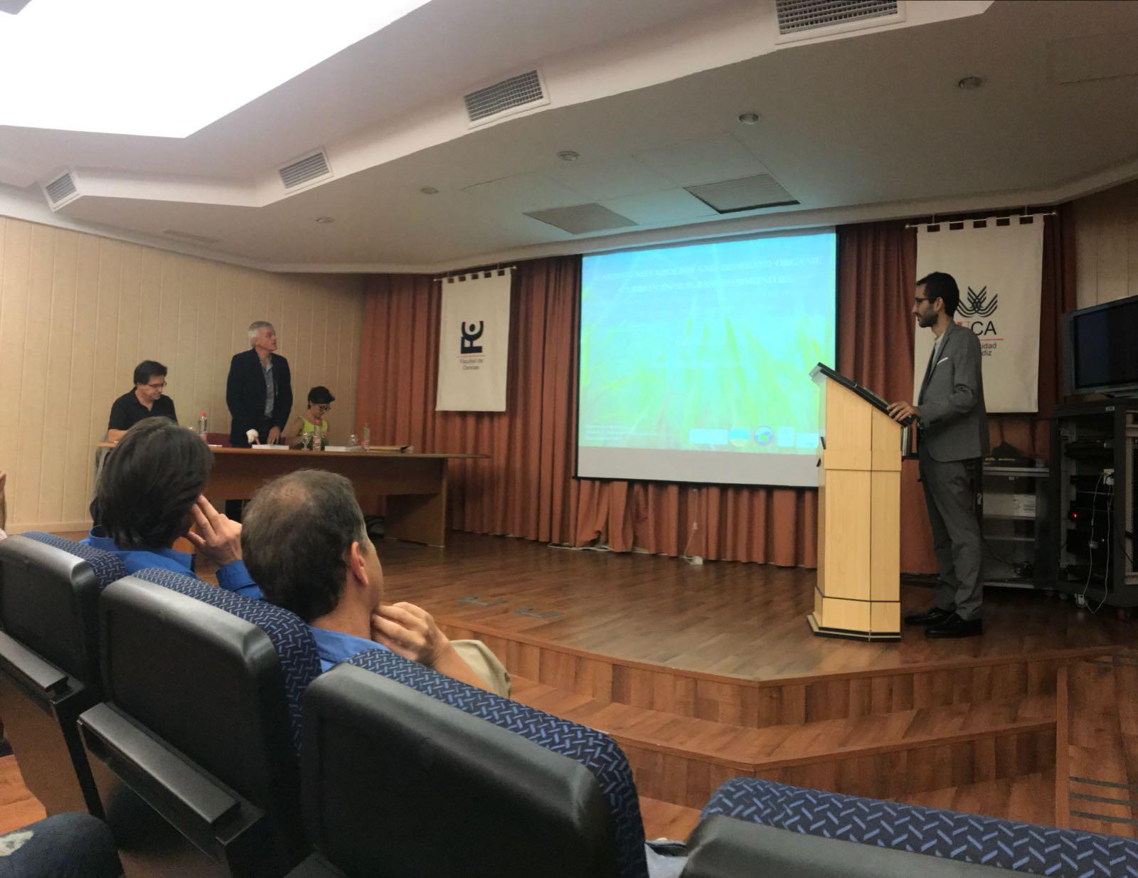 L.G. Egea ready for his PhD defense