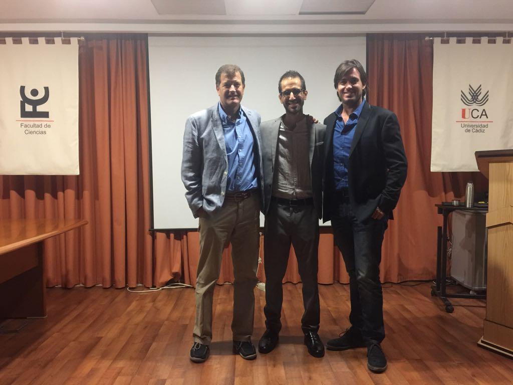 Dr. Hernández, Dr. Egea and Dr. Brun